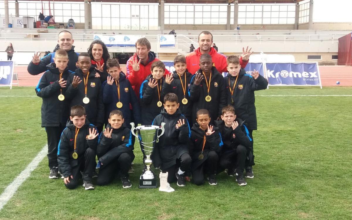 Reial Madrid - Benjamí A: Campions de l'Íscar Cup! (0-2)