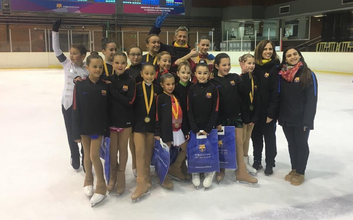 El Barça de patinaje vuelve a lucir