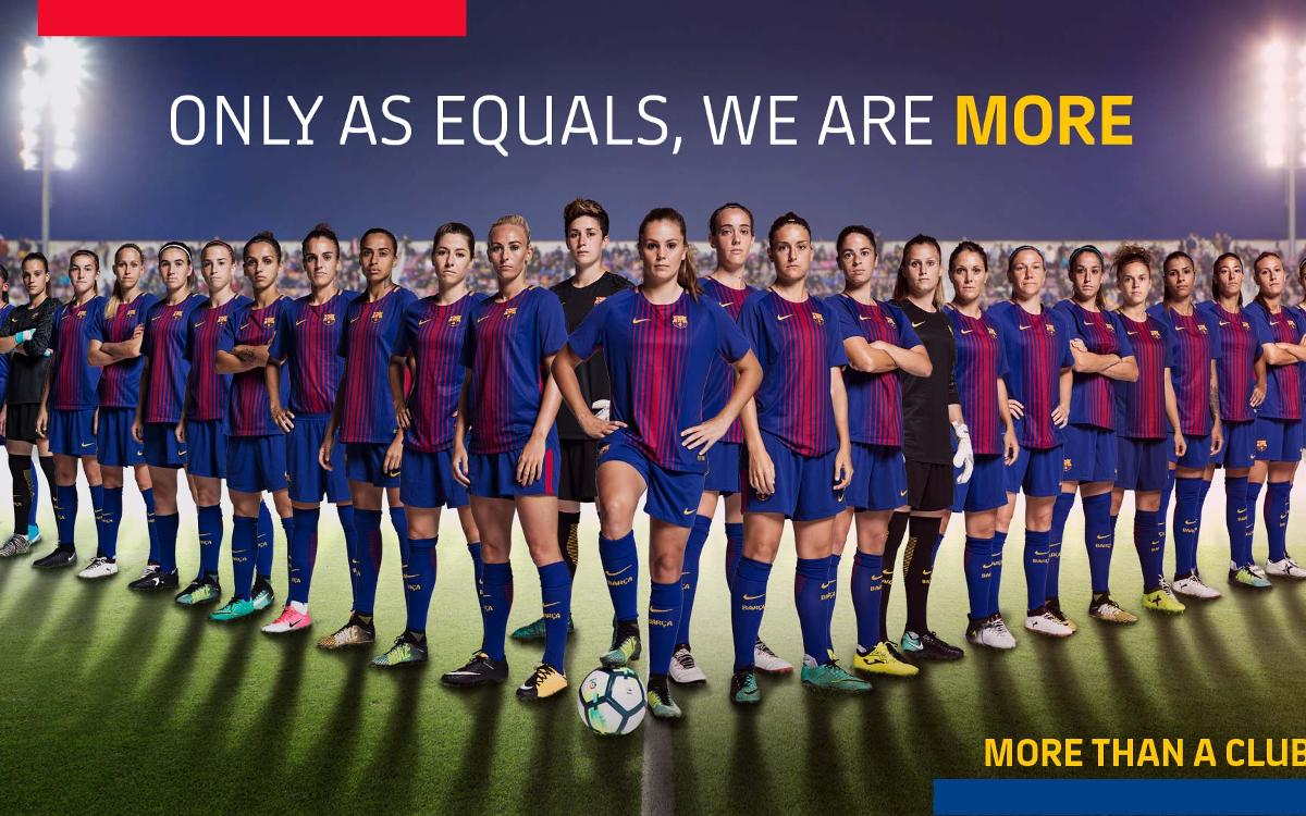 FC Barcelona observes International Women's Day 2018
