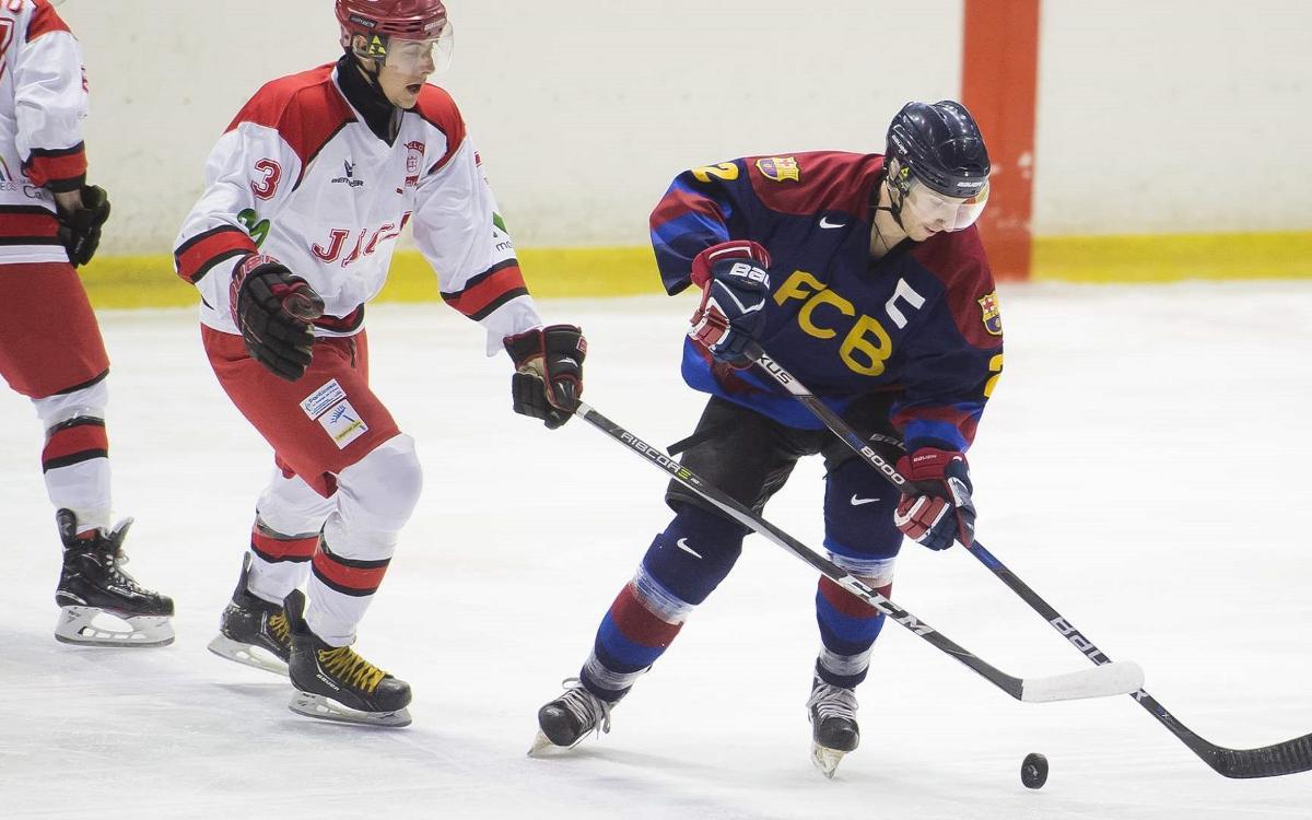 Suspendido el partido entre el CH Jaca y el Barça de hockey hielo