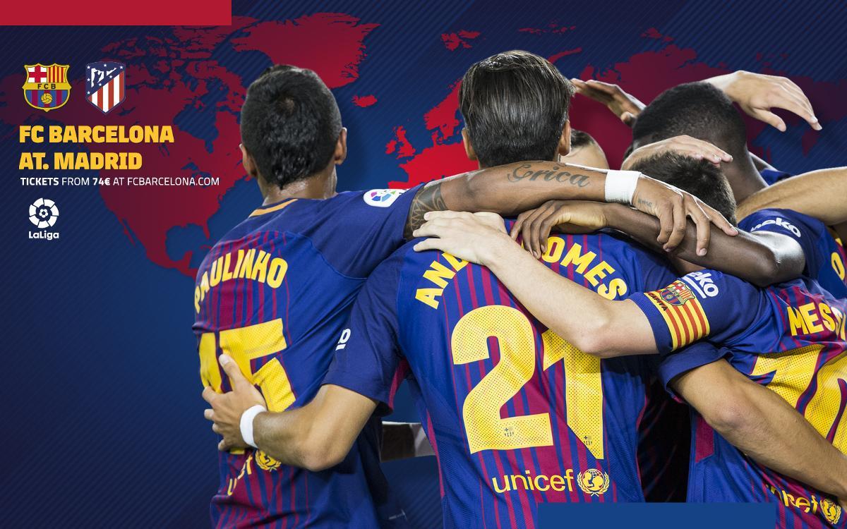 Cuándo y dónde se puede ver el FC Barcelona - Atlético de Madrid