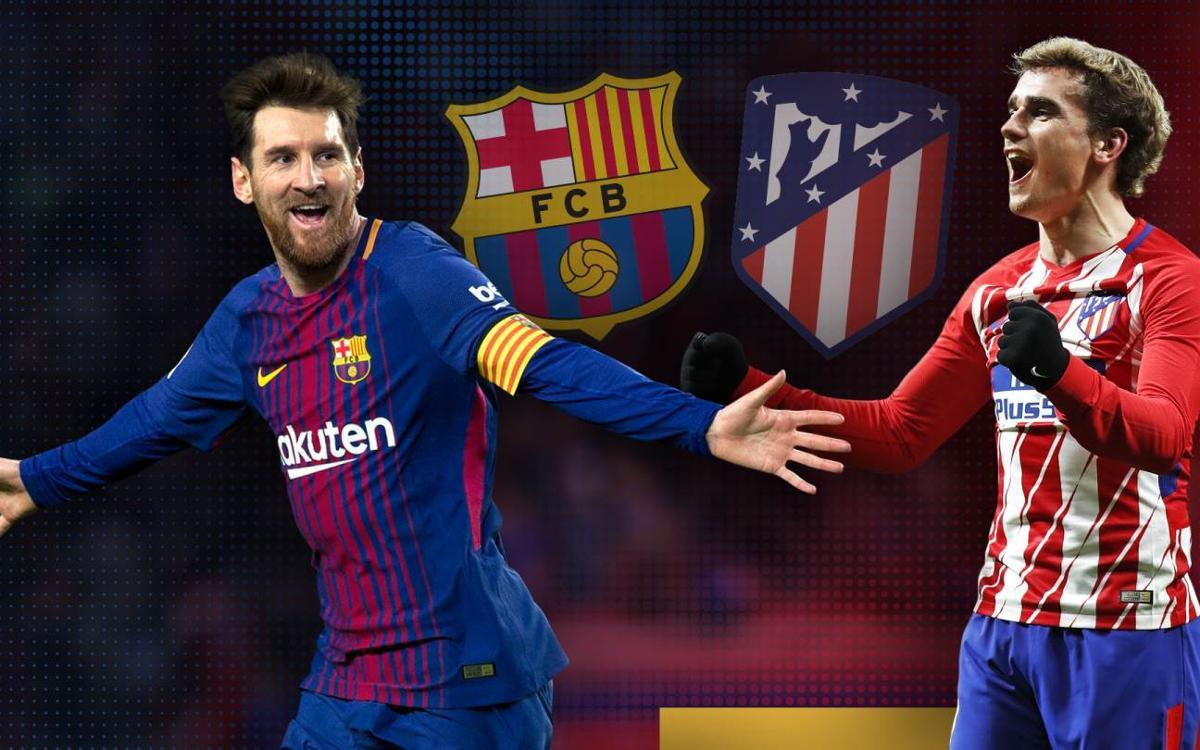 FC Barcelona – Atlètic de Madrid: Duel de gegants al Camp Nou