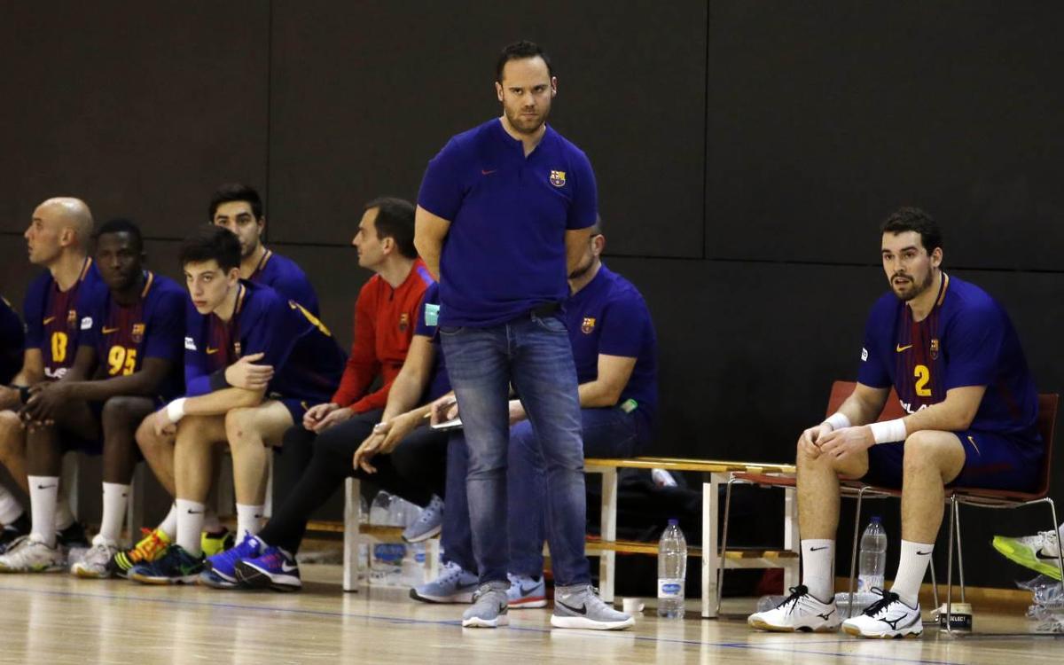 Barça Lassa B - BM Alarcos (37-22): La defensa es clave
