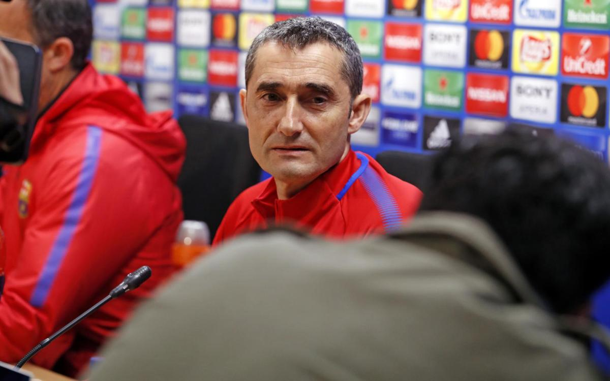 VIDEO: Ernesto Valverde press conference quotes before Barça vs Chelsea
