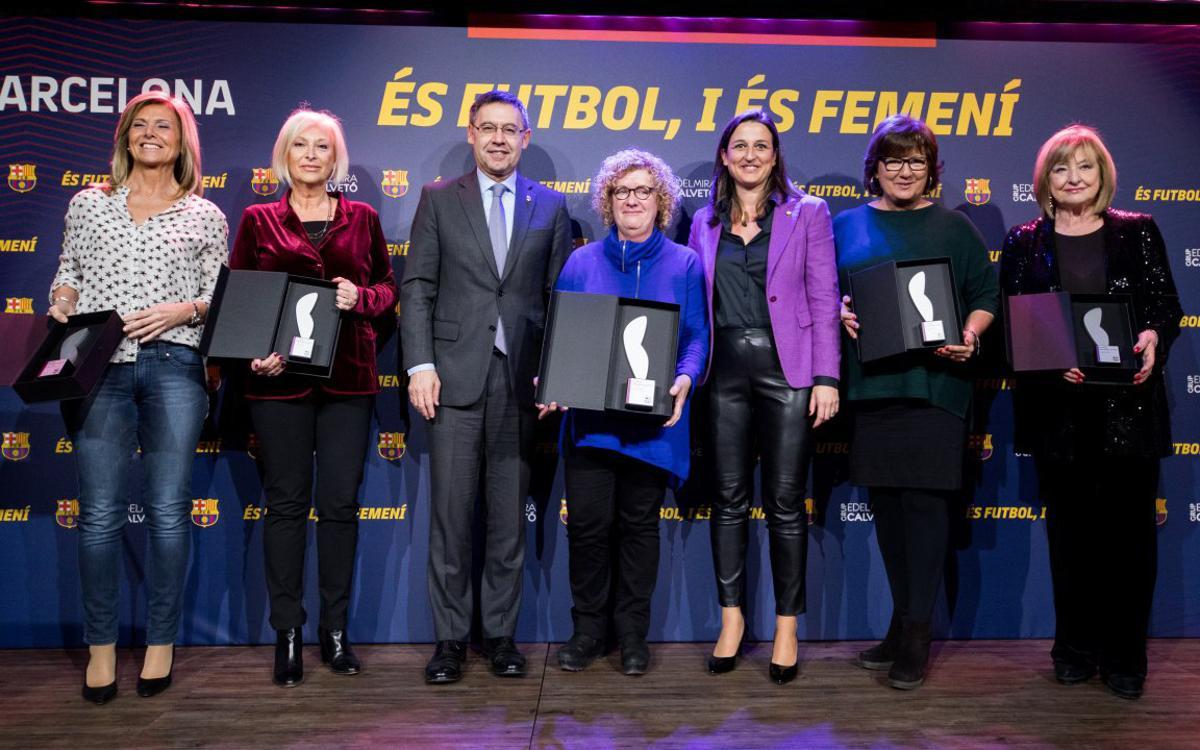 Premio Edelmira Calvetó para las pioneras del periodismo deportivo en el medio televisivo