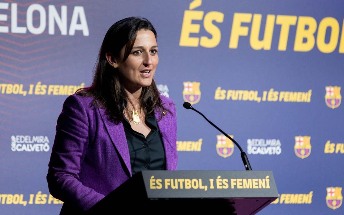 Maria Teixidor tanca la jornada 'És futbol, i és femení' amb un gran èxit de participació