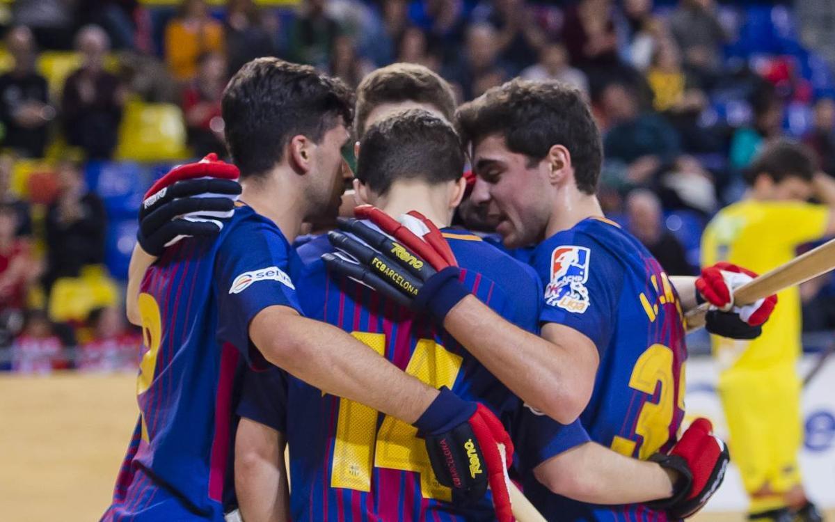 Barça Lassa – Montreux HC: A victory to close the group (3-0)