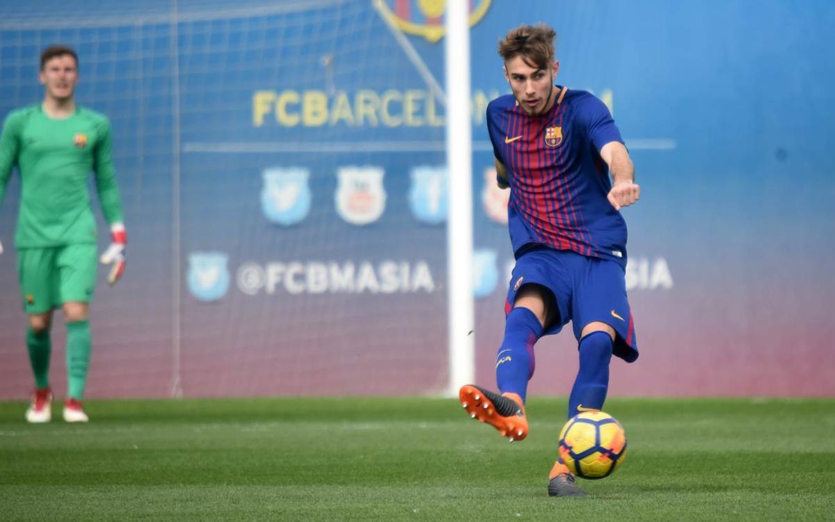 Vidéo - Le Top 5 buts de la Masia (3-4 mars 2018)