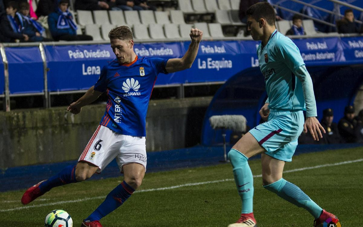 Real Oviedo - FC Barcelona B: A point at the Carlos Tartiere (0-0)