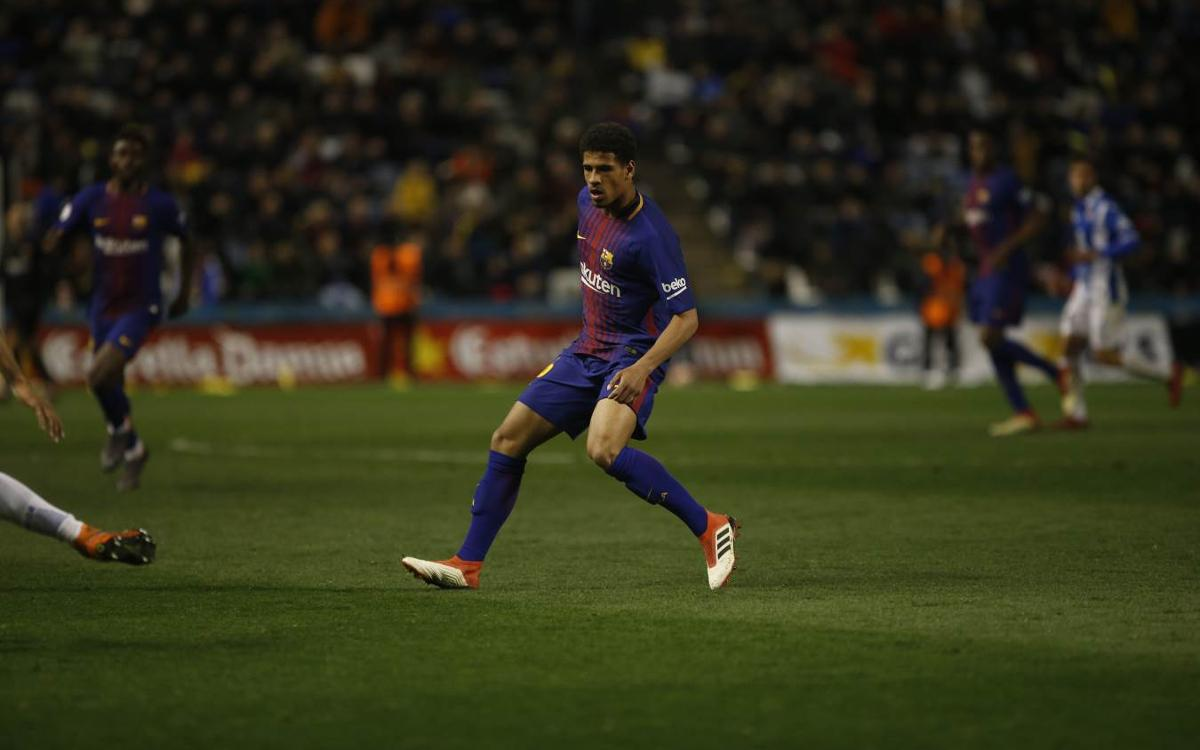 Marcus McGuane makes FC Barcelona debut in Catalan Super Cup