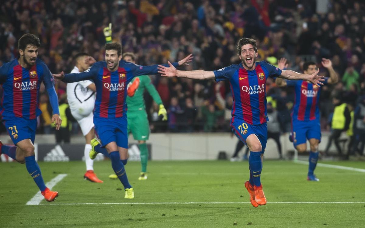 Vidéo - Sergi Roberto revient sur la remontada :