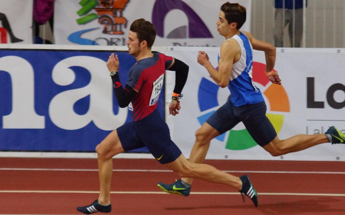 Óscar Husillos, desqualificat després de guanyar els 400 metres
