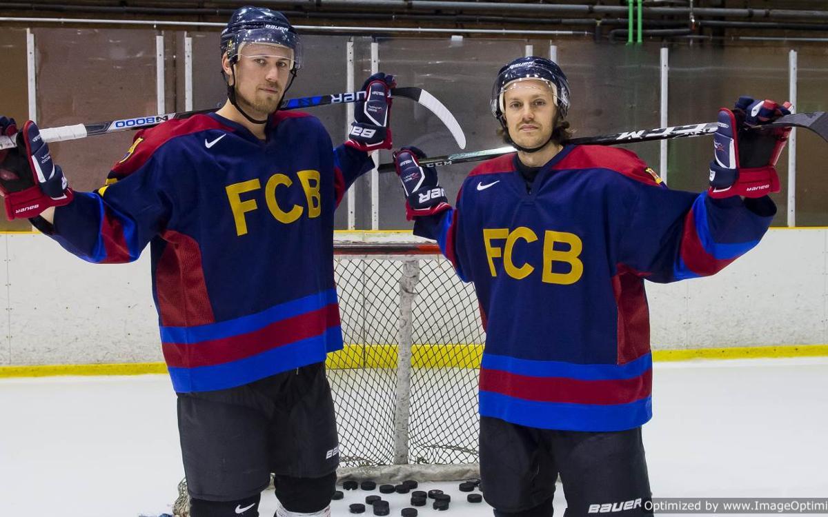 Marcus Wallmark y Alexander Boström confían en superar al CH Jaca