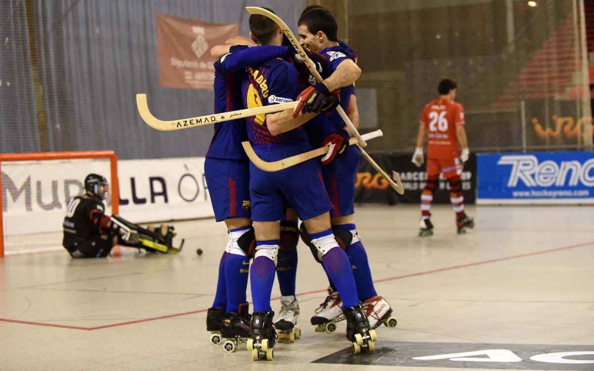 Citylift Girona CH 4-7 Barça Lassa: Thriller with a happy ending