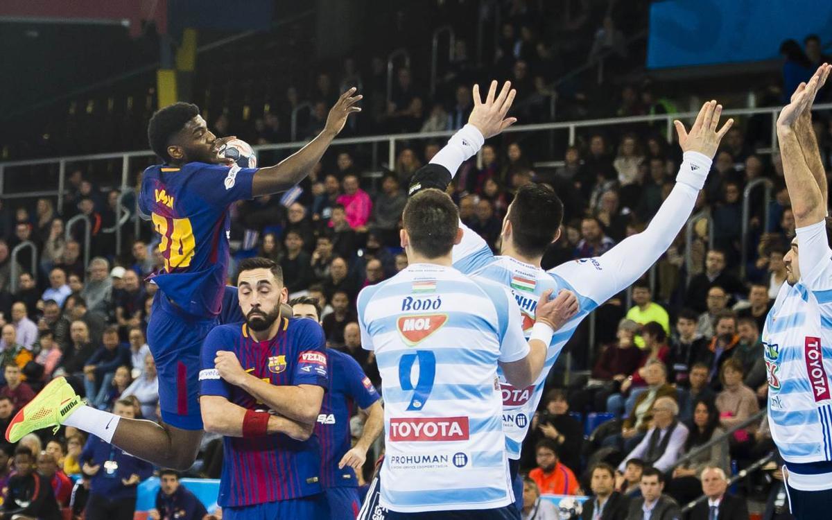 Barça Lassa - Pick Szeged: A win to finish second (28-27)