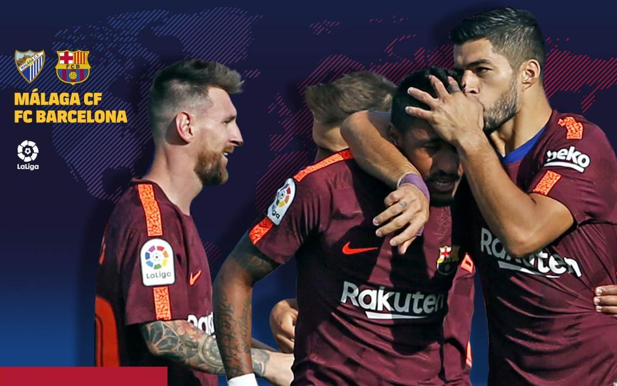 Cuándo y dónde se puede ver el Málaga CF-FC Barcelona