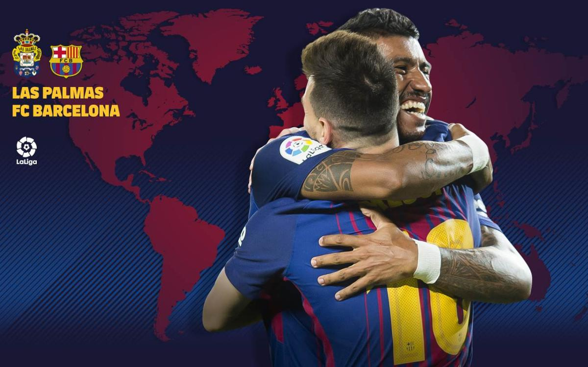 When and where to watch UD Las Palmas vs FC Barcelona in Week 26 of La Liga