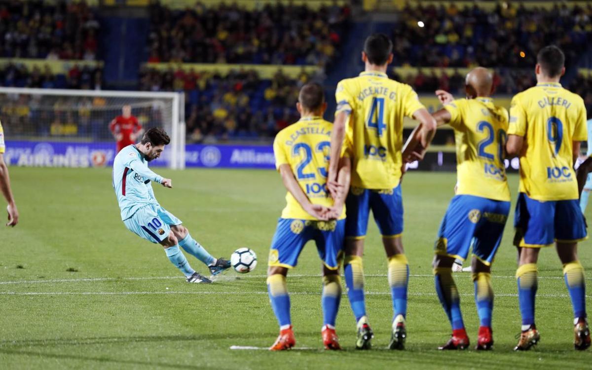 Las Palmas – FC Barcelone : Le leader méritait mieux (1-1)