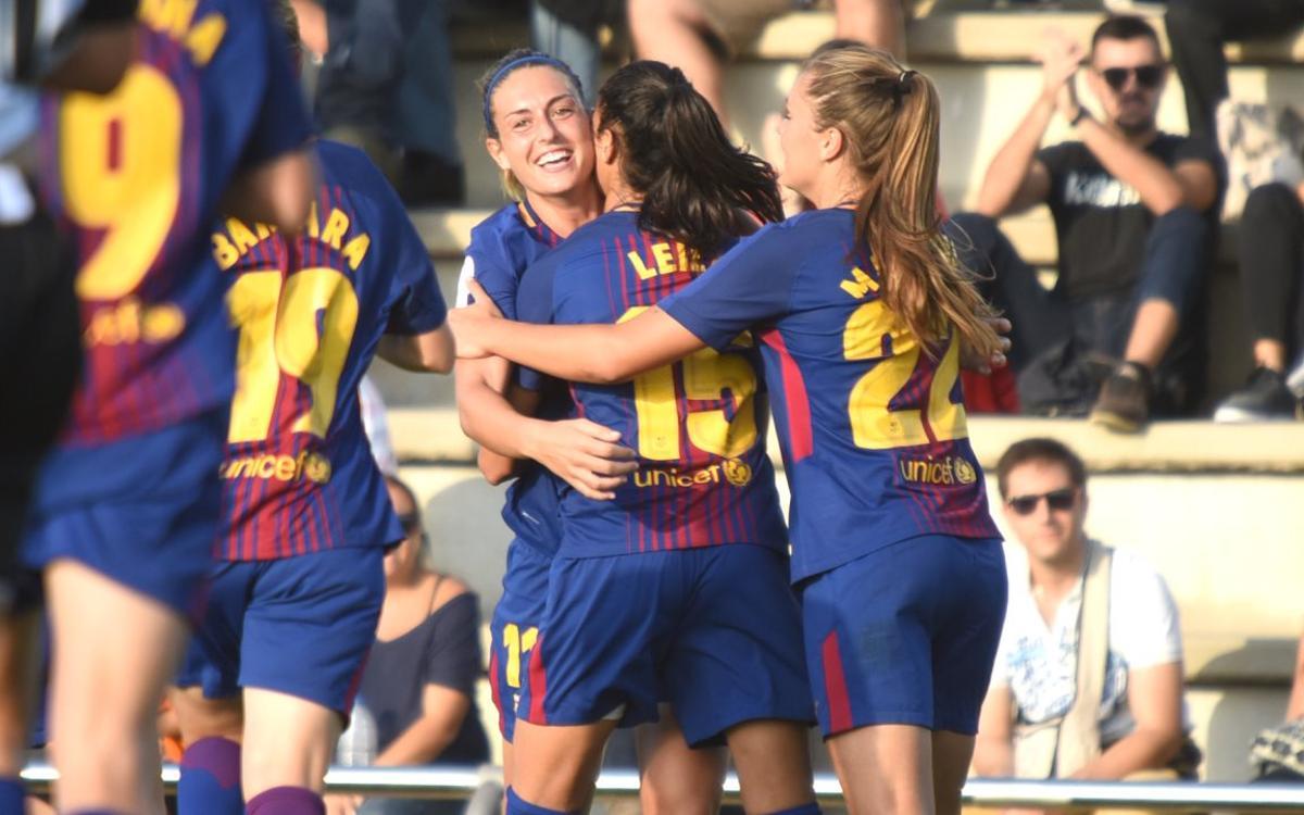 Las entradas del Femenino-Atlético, a recoger en las taquillas del Camp Nou