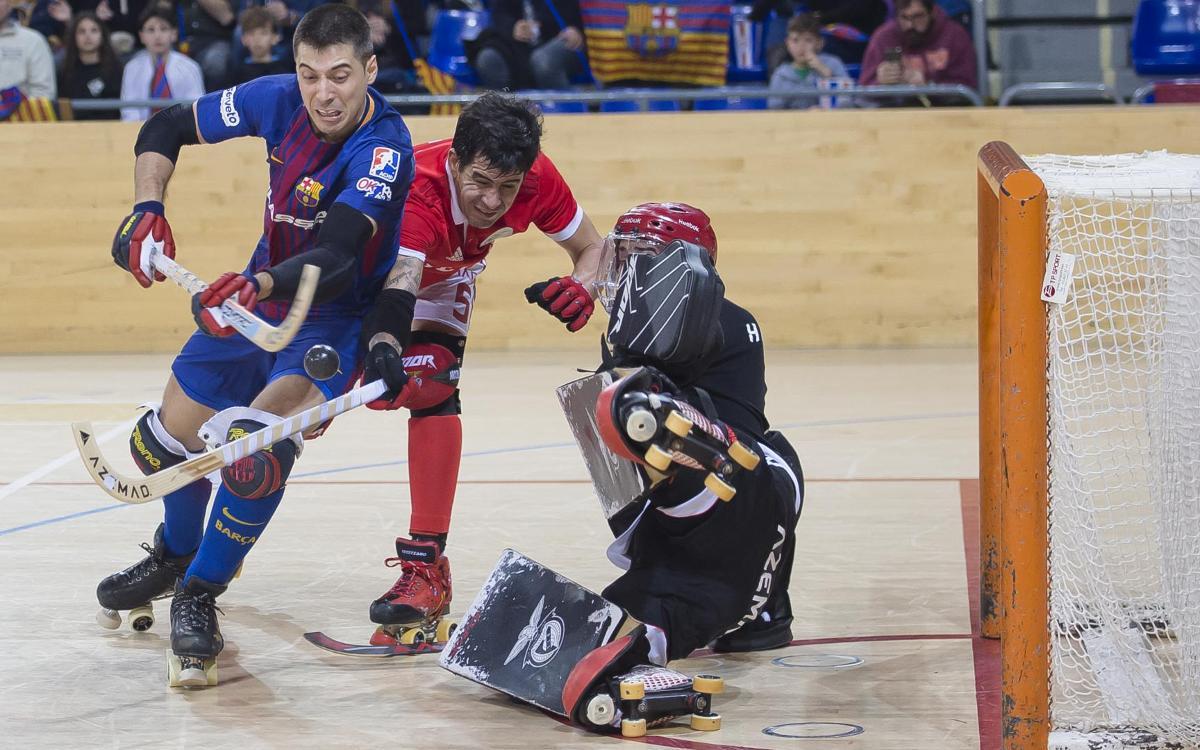FC Barcelona Lassa – Montreux HC: Amb els deures fets però mantenint l'excel·lència