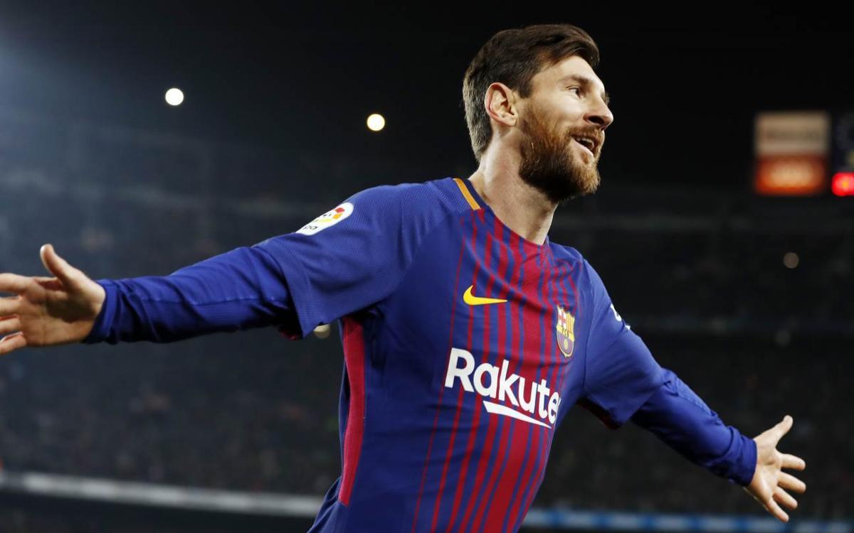 FC Barcelona - RCD Espanyol: La ley Messi vale unas semis (2-0)
