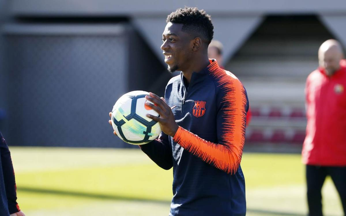 Ousmane Dembélé, back in the squad