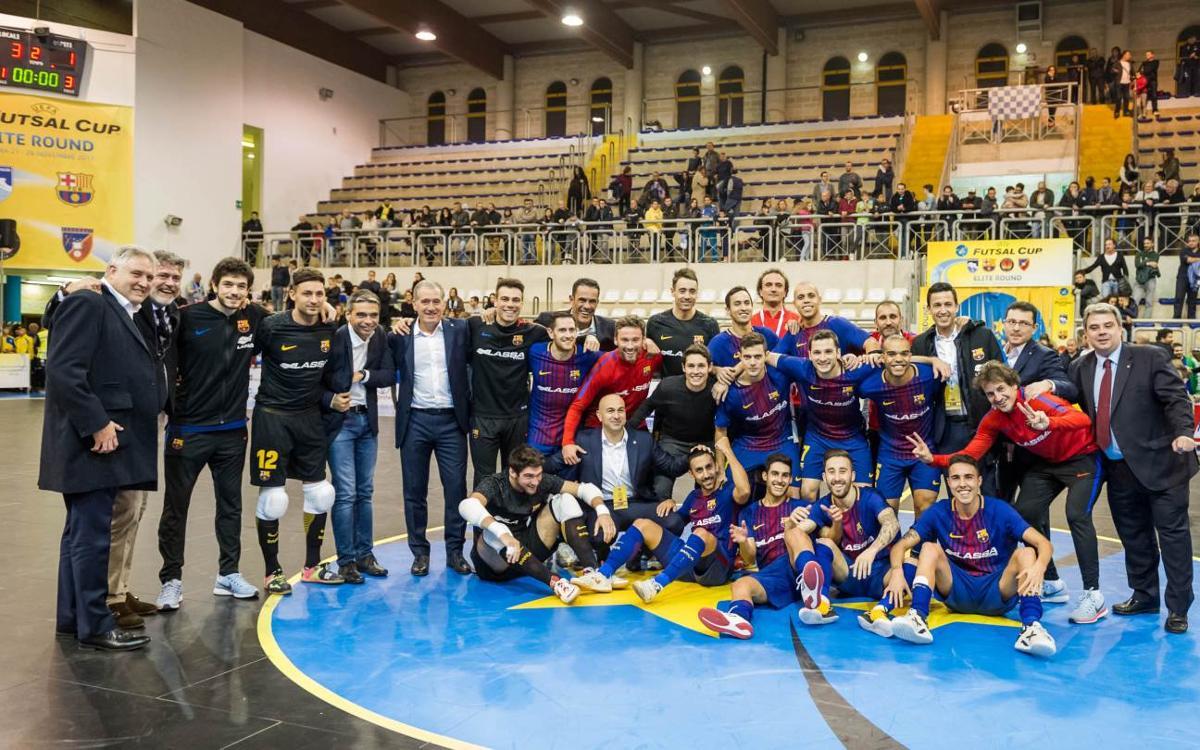 El Camp Nou acollirà el sorteig de la UEFA Futsal Cup