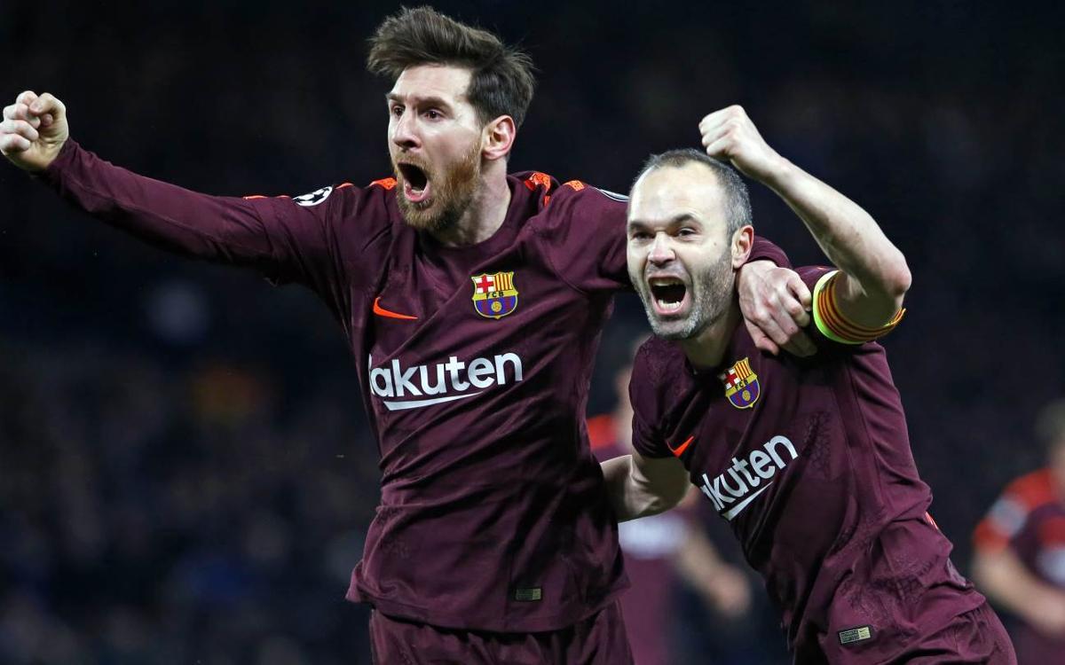 Chelsea FC – FC Barcelona: Messi i Iniesta reactiven el Barça (1-1)