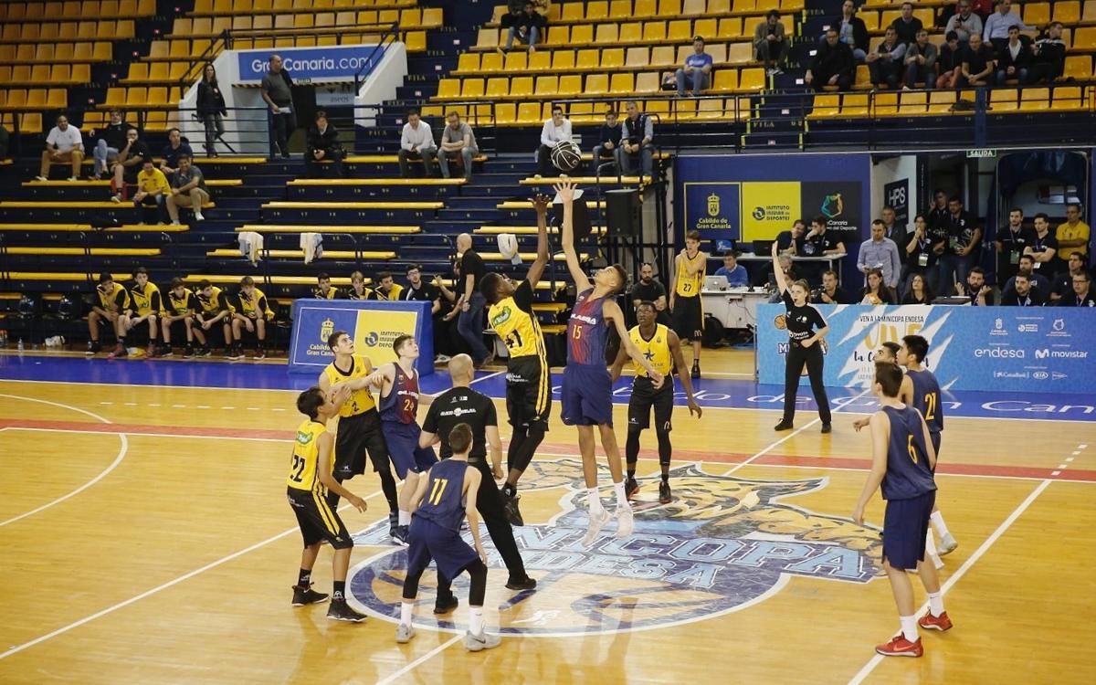 Barça Lassa A - Iberostar Canarias (60-76): Caen en semifinales