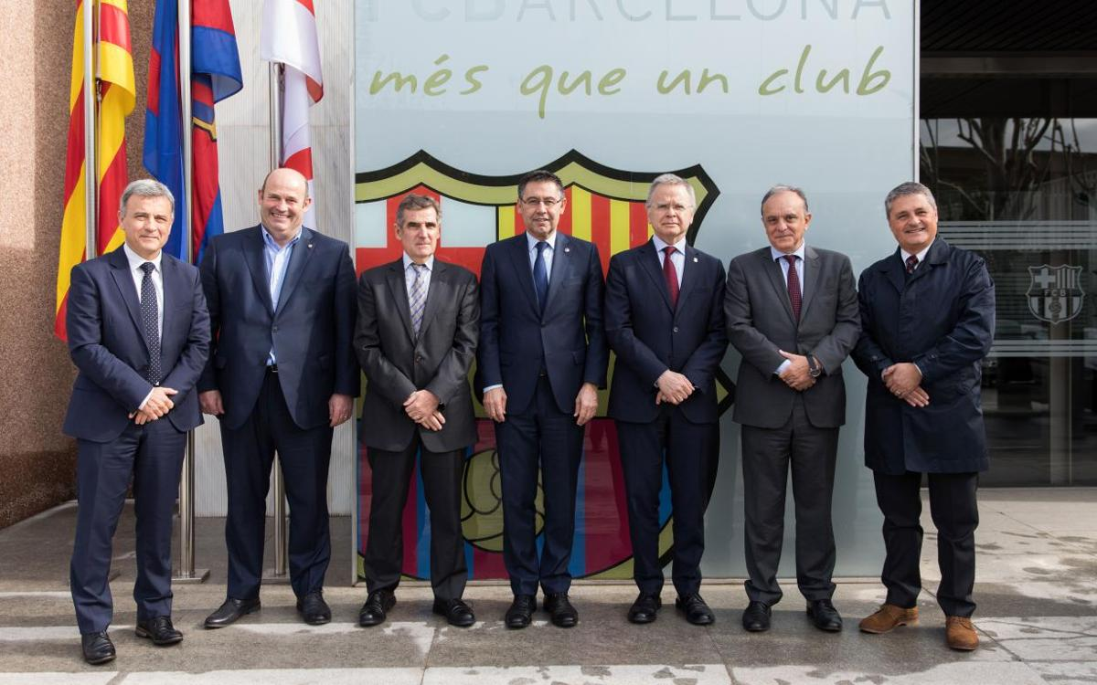 Barça signs deal with healthcare and academic organizations to promote sports medicine