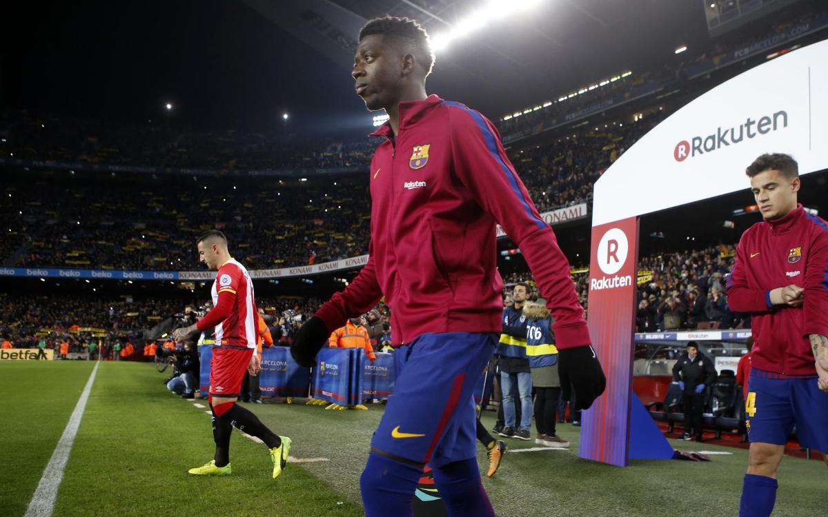 Coutinho y Dembélé ya deslumbran juntos en el Camp Nou