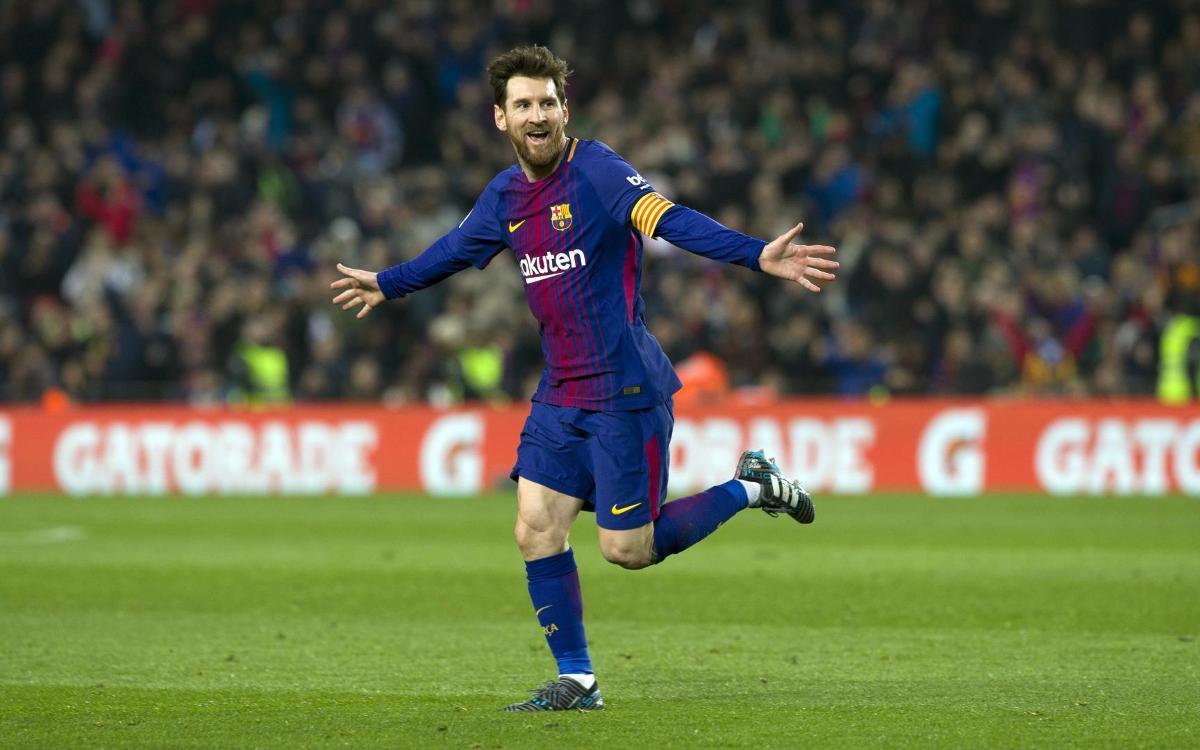 Lionel Messi emulates Rivaldo and Ronaldinho free kicks