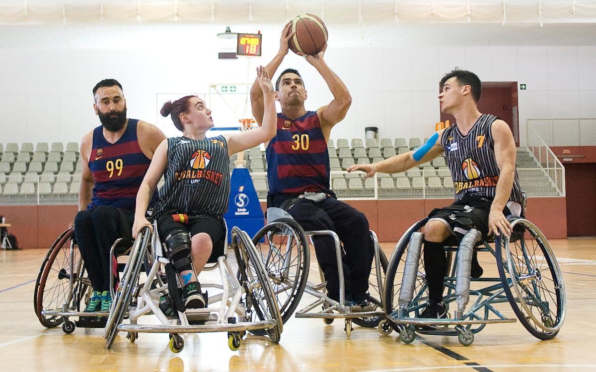 L'UNES Barça vol continuar amb la bona dinàmica