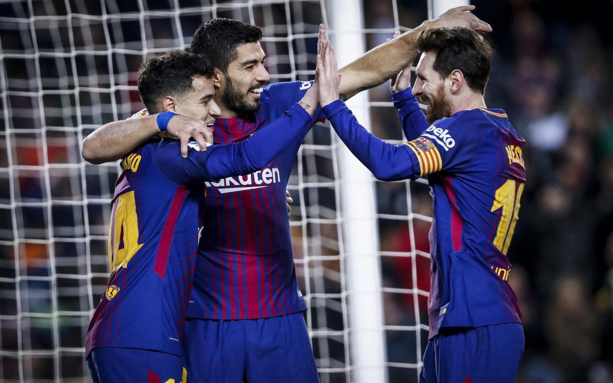 Barça - Girona: Messi lidera un espectacle (6-1)