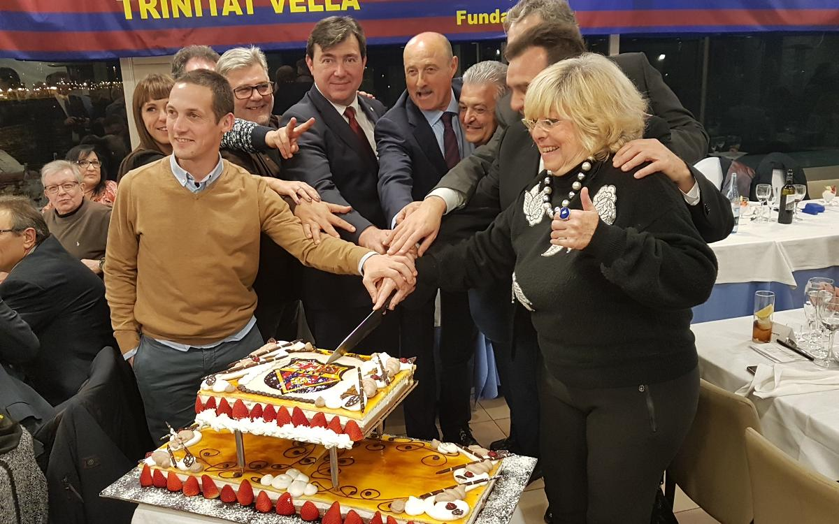 Over a hundred supporters attend the 25th anniversary of the PB Trinitat Vella
