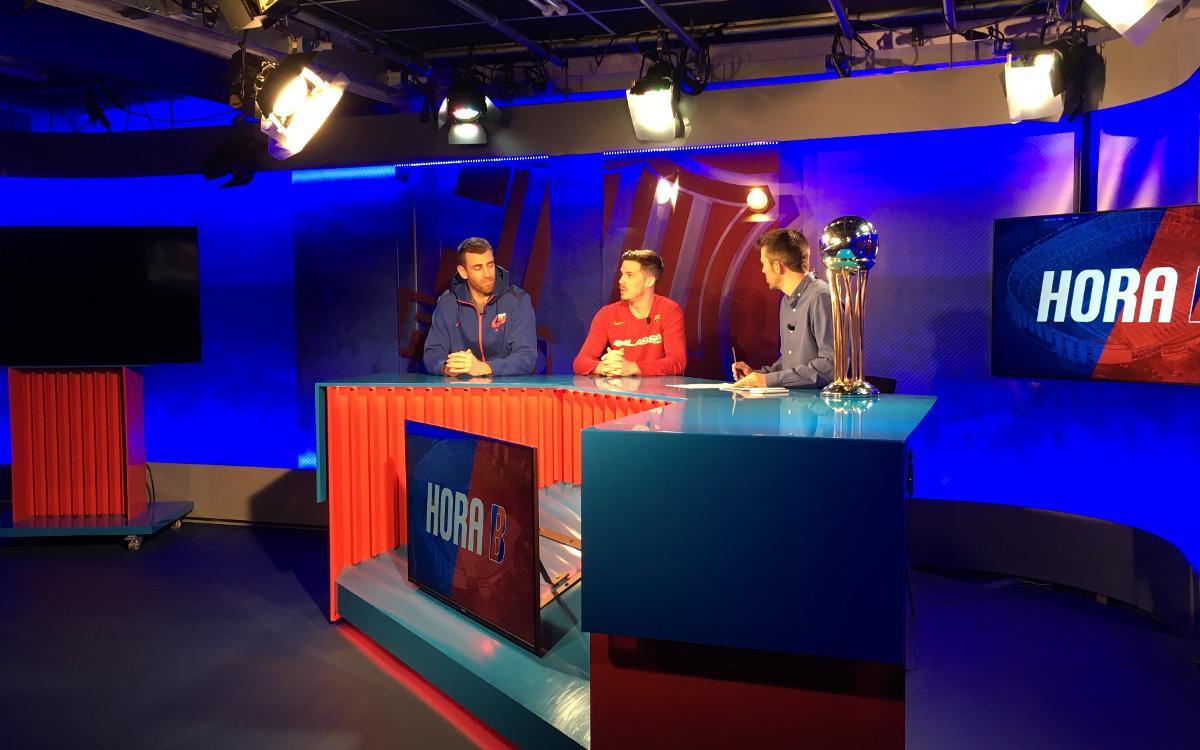 Thomas Heurtel y Victor Claver valoran el título de la Copa del Rey en Barça TV