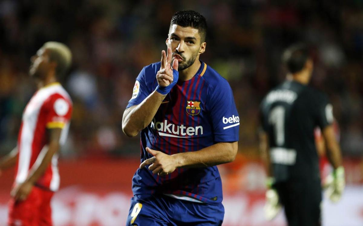 By the numbers: Girona, Suárez's 24th victim