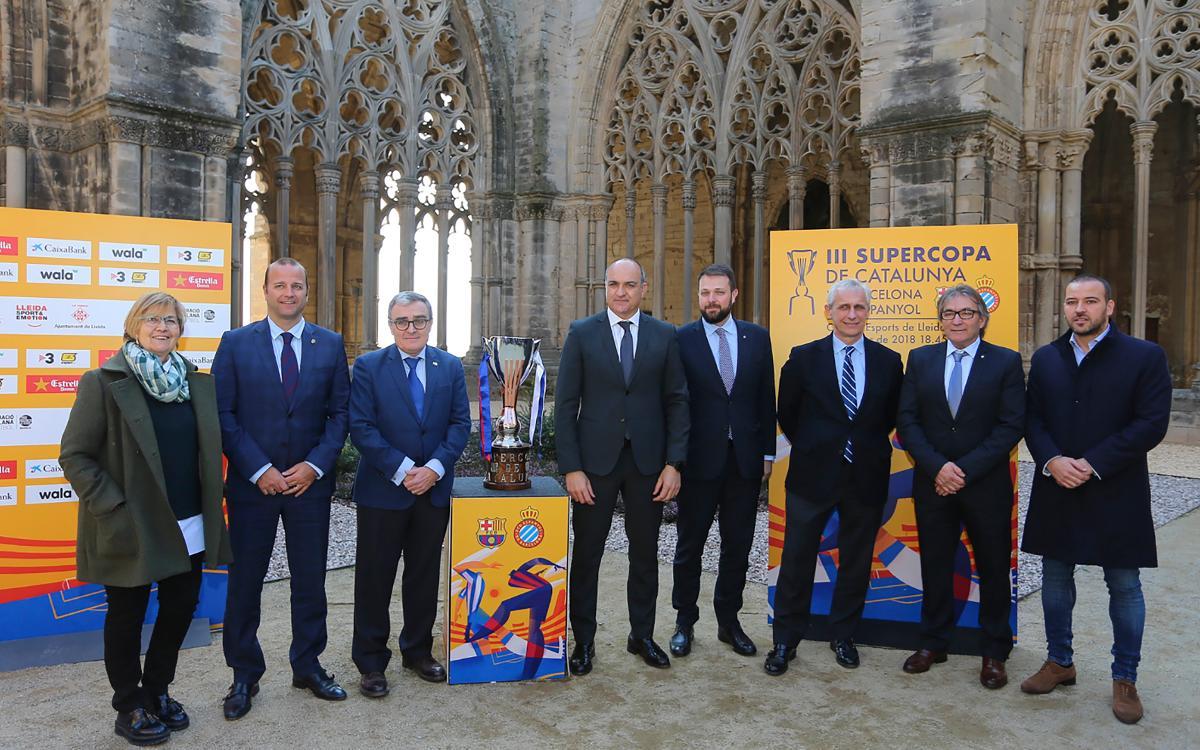 Presentada la Supercopa de Catalunya en Lleida