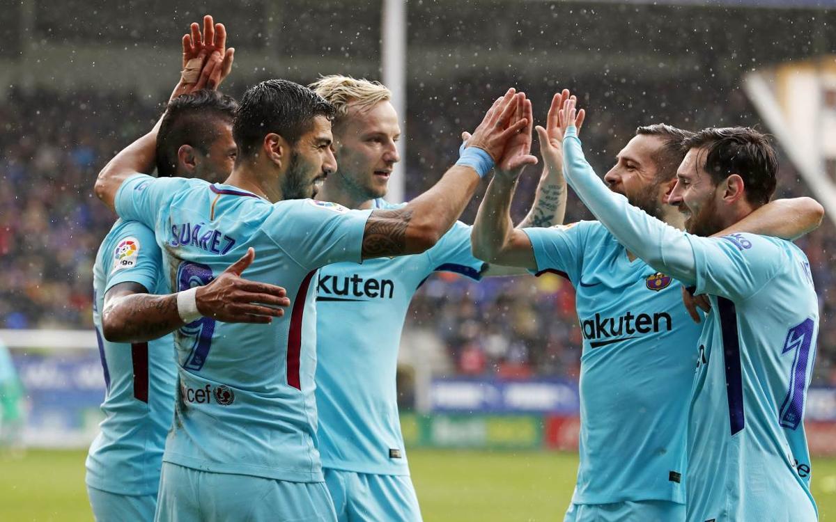 エイバル - FC バルセロナ: イプルアで新記録更新 (0-2)