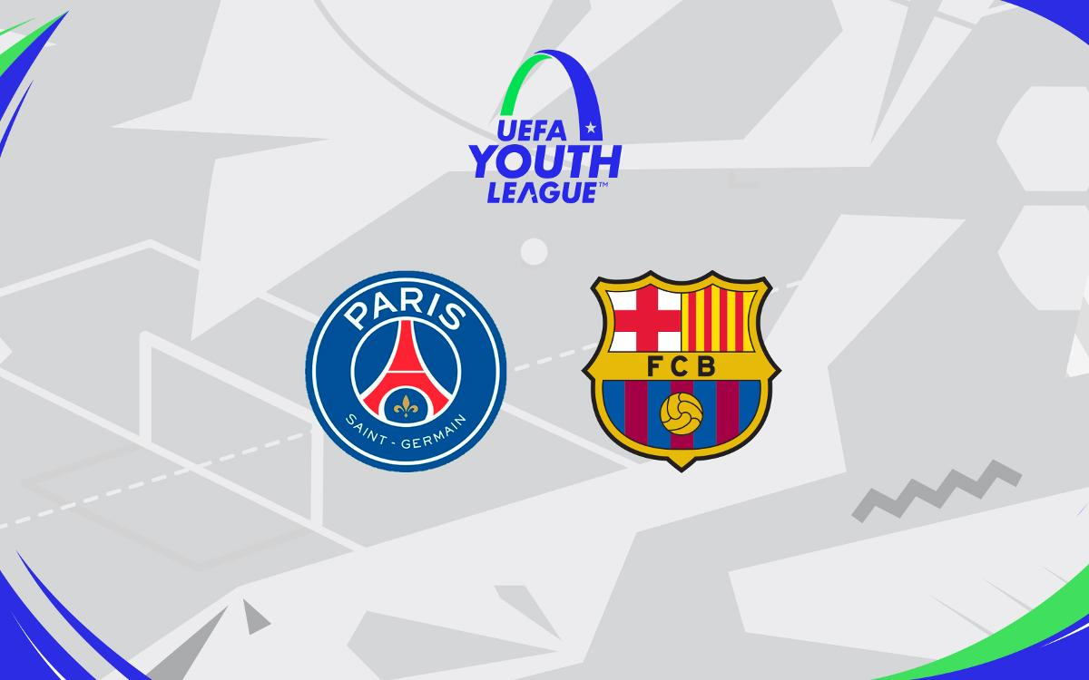 El PSG, rival als vuitens de la Youth League