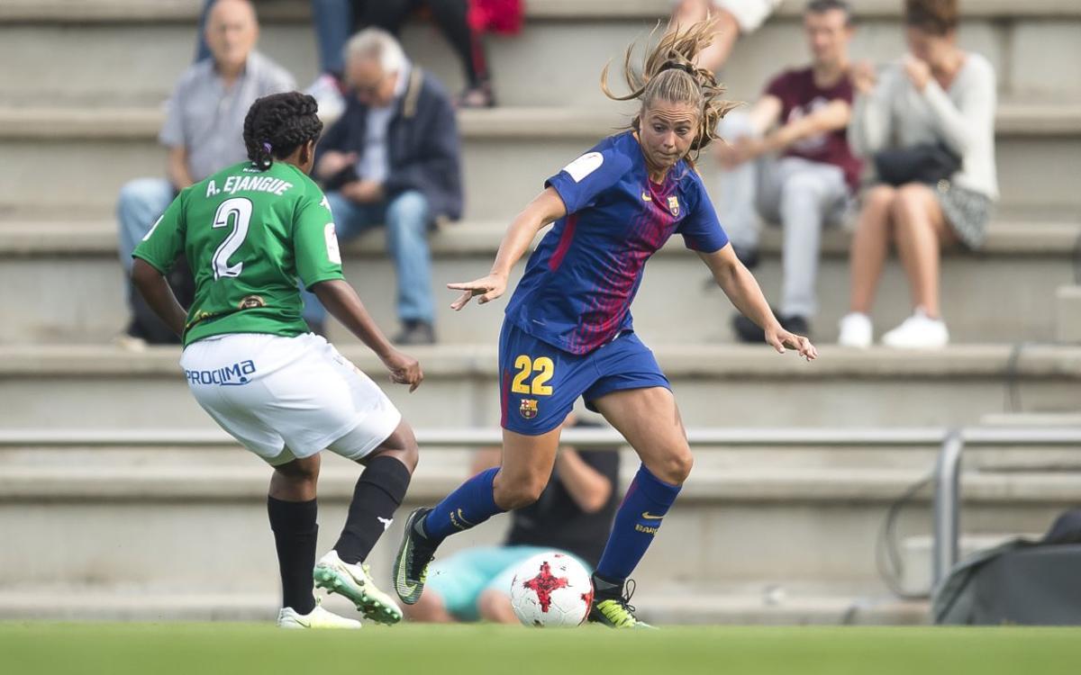 Santa Teresa - FC Barcelona Femení: tres punts difícils en joc