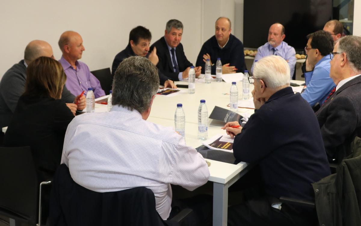 La Confederació reafirma su crecimiento con las reuniones de las Comisiones de trabajo