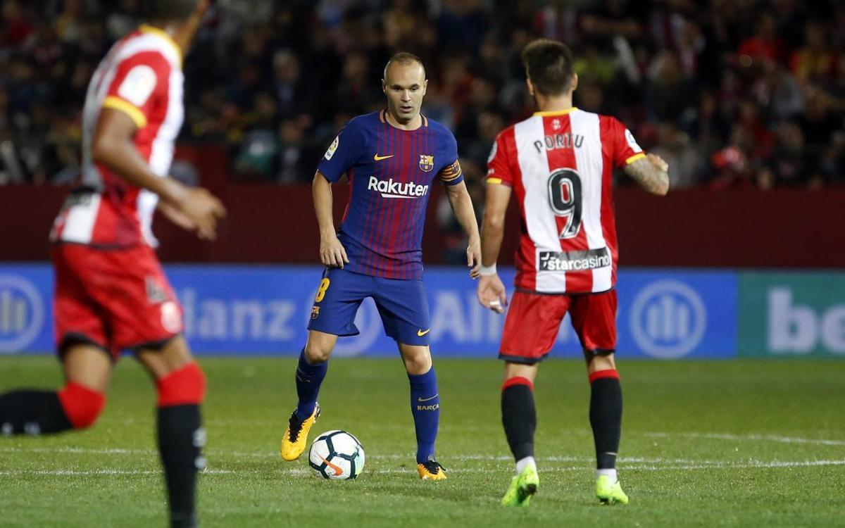 El Barça-Girona, un duel inèdit al Camp Nou