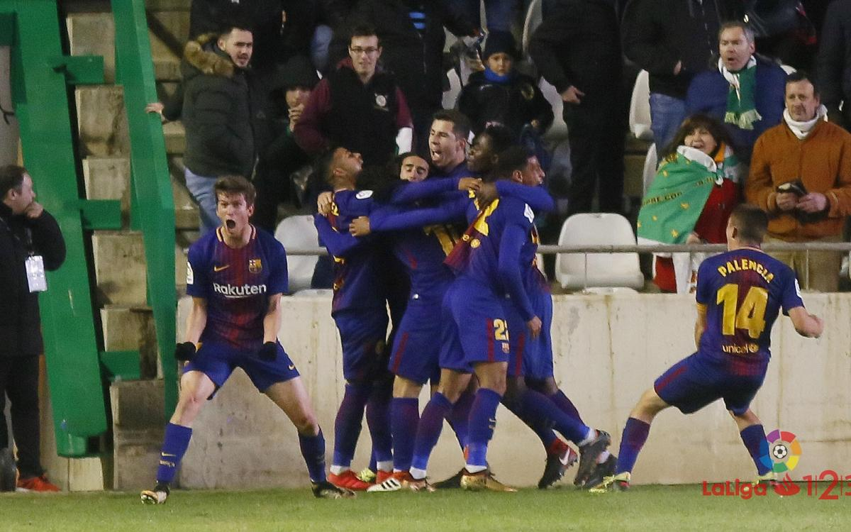 Córdoba CF - FC Barcelona B: A comeback at the death (1-2)
