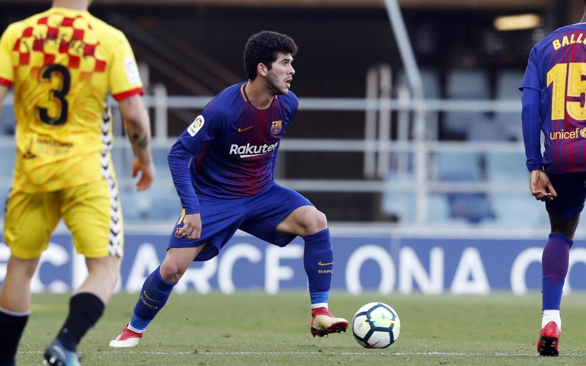 FC Barcelona B - Nàstic: El control del esférico no lleva a la victoria (1-1)