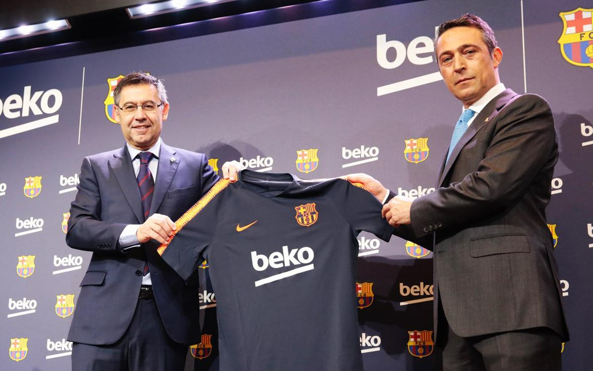 FC Barcelona extends sponsorship agreement with Beko