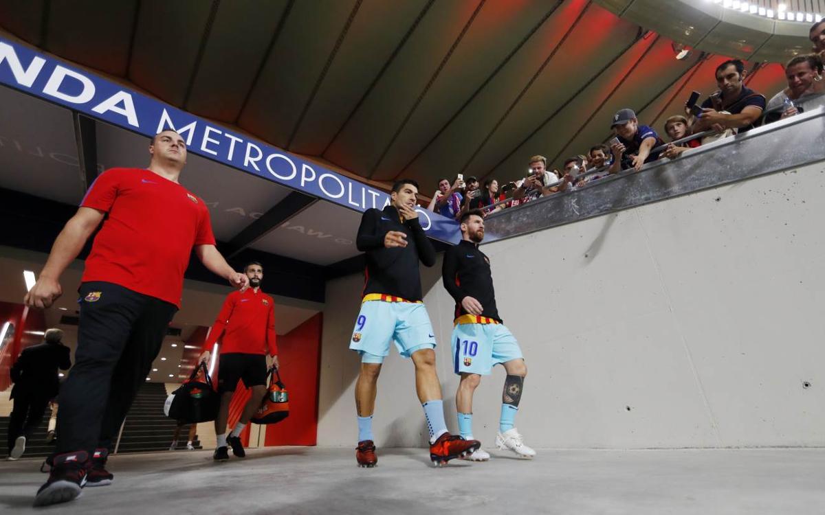Copa del Rey final at Wanda Metropolitano in Madrid