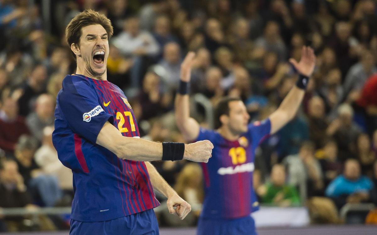 FC Barcelona Lassa - HC Vardar: Golpe de efecto contra el campeón (29-28)
