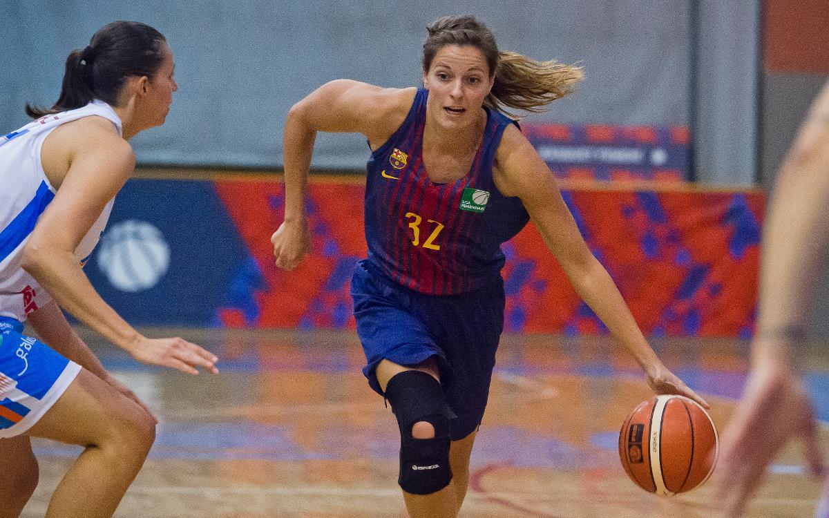 Barça CBS quiere reconciliarse con la victoria