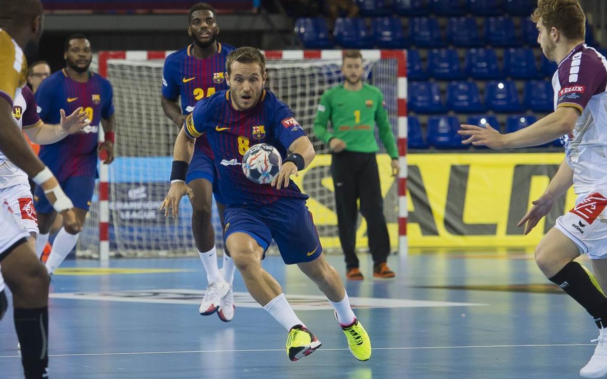 Barça Lassa – HC Vardar: Partido grande contra las adversidades